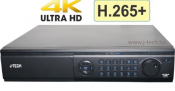 Đầu ghi J-Tech HD6164 ( 4K H265 8Sata)