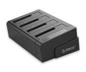 """Đế ổ cứng Orico 6648US3-C (Docking) 4 khe cắm: 3.5"""" và 2.5"""" SATA 3 USB 3.0"""
