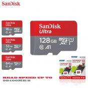 Thẻ nhớ SANDISK TF Ultra 100mb A1 64Gb