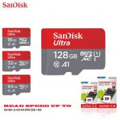 Thẻ nhớ SANDISK TF Ultra 100mb A1 16Gb