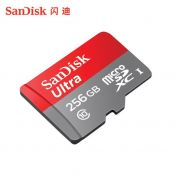 Thẻ nhớ SANDISK TF Ultra 100mb A1+Adapter 256Gb