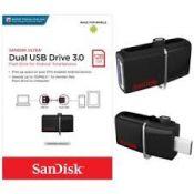 USB SANDISK OTG 3.0 SDDD2 128Gb