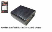 Adapter Bluetooth 5.0 4in1 USB + Audio XYH-D80