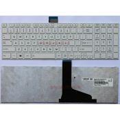 Bàn phím Laptop TOSHIBA Satellite C850,C850D,C855,C855D,S55,L850,L850D,L855,L855D,L870,L875 (Màu Trắng)