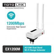 Thiết bị mở rộng sóng Wi-Fi TOTOLINK EX1200M băng tần kép chuẩn AC1200