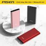 Sạc dự phòng Pisen Color Box 10000mAh (QuickCharger, QC3.0, PD3.0, Lightning, LED)