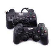 Bộ đôi tay cầm chơi game EW2008D - có dây (Đen)
