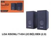 Loa vi tính KISONLI T-004 (2cái bộ) đen