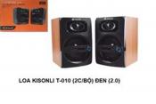 Loa vi tính KISONLI T-010 (2cái Bộ) đen (2.0)