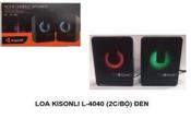Bộ loa vi tính KISONLI L-4040 (2cái) đen