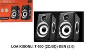 Loa vi tính KISONLI T-500 (2cái Bộ) đen (2.0)