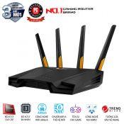 Bộ phát wifi ASUS Gaming TUF-AX3000 Wifi AX3000 2 băng tần, Wifi 6 (802.11ax), AiMesh 360 WIFI Mesh, AiProtection, Gaming port, Mobile Game Boost