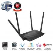 Bộ phát wifiASUS RT-AC1500UHP (Dũng Sĩ Xuyên Tường) AC1500 MU-MIMO, Parental Control