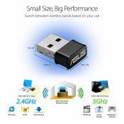 ASUS USB-AC53 Nano Chuẩn AC1200, thiết kế USB nhỏ gọn, 2 băng tần