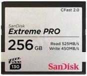 Thẻ nhớ Sandisk CFast 2.0 Extreme Pro 256GB tốc độ 525MB/s