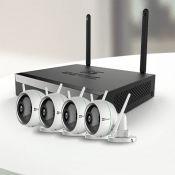 Bộ kit camera kỹ thuật số có chức năng ghi hiệu EZVIZ    (08 kênh+04 C3WN-1080P) BW3824B0