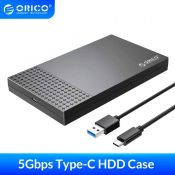 Hộp ổ cứng Orico 2526C3-BK 2.5 SSD HDD SATA 3 USB3.1 Gen2 Type-C