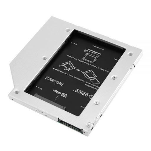 "Khay ổ cứng Orico L127SS Laptop (Caddy bay) 2.5"" SATA 1,2,3"