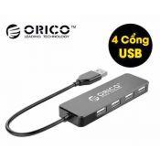 Bộ chia USB Oirco FL01-BK HUB 4 cổng USB 2.0