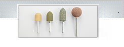 Grinding Stones for de-burring, rounded & surface polishing