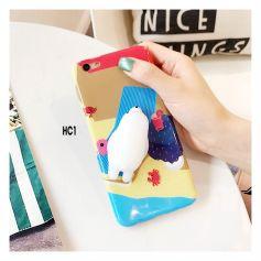 Ốp teen in động vật 3D nổi dành cho iphone