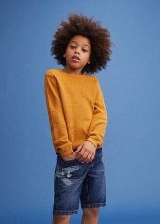 Quần short jean bé trai size 4/5-9/10t