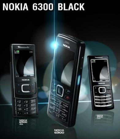 Nokia 6300 Black chính hãng