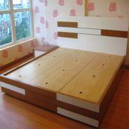 Giường gỗ công nghiệp GG 09