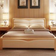 Giường gỗ tự nhiên hiện đại GG 03