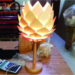 Đèn thờ gỗ Decor HVN - 110
