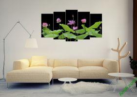 Những mẫu tranh Hoa Sen đẹp, phong thủy, ý nghĩa