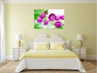 Tranh hoa tím treo phòng ngủ đẹp AmiA 345