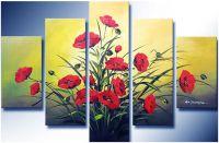 TSD 124 - Tranh sơn dầu ghép bộ nhiều tấm phong cách hiện đại
