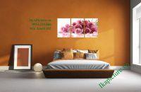 Tranh hoa hồng tình yêu trang trí phòng ngủ vợ chồng AmiA 452