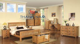 Thiết kế nội thất căn nhà với gỗ sồi