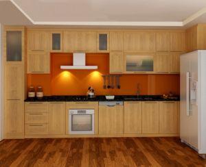 Mẫu tủ bếp gỗ sồi Nga - Thanhnamhome-06
