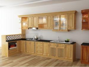 Mẫu tủ bếp gỗ sồi Nga - Thanhnamhome-02