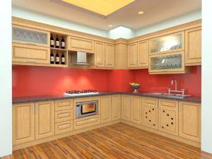 Mẫu tủ bếp gỗ sồi Nga - Thanhnamhome-03