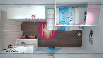 Nội thất phòng ngủ cho bé -Thanhnamhome-11