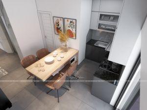 Tủ bếp Acrylic - Nội thất Thành Nam