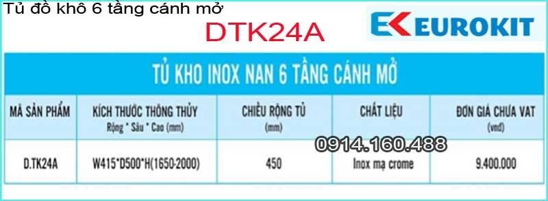 EUROKITS-DTK24A-Tu-do-kho-6-tang-12-ro-canh-mo-EUROKITS-DTK24A-TSKT