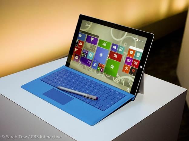 Surface Pro 3 i7 Ram 8G SSD 256G