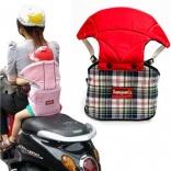 Đai bảo hiểm có phầm đệm cổ cho bé khi đi xe máy
