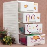 Tủ Kitty 4 ngăn Song Long Plastic (26.5 x 34.5 x 50cm)