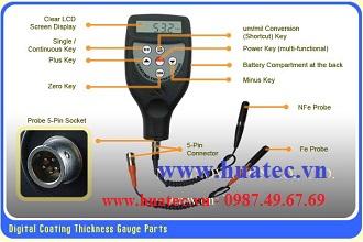 Thiết bị đo độ dày lớp phủ TG-8826FN