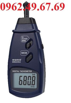 Máy đo tốc độ vòng quay tiếp xúc SM2235A