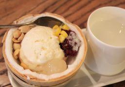 Kem xôi dừa, kem cuộn, trà sữa - món hot chưa hạ nhiệt
