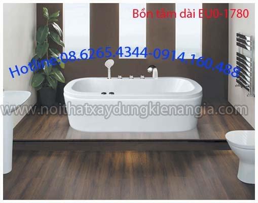 Bồn tắm chữ nhật Acrylic EUROCA EU0-1780