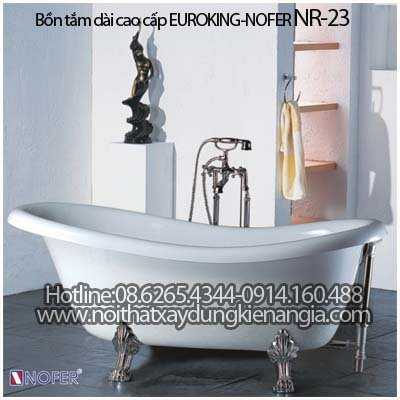 Bồn tắm Oval EUROKING NOFER NR-23