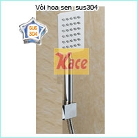VÒI HOA SEN SUS 304,TAY SEN INOX 304